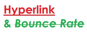 hyperlink and bounce rate tenjocity.wordpress