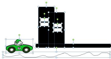membuat animasi mobil bergerak dengan powerpoint
