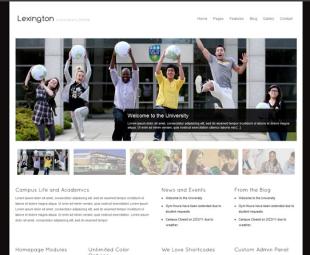 template web wordpress untuk sekolah