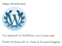 anniversary by wp