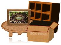 make powerpoint 3d cupboard table frame box mulyaditenjo