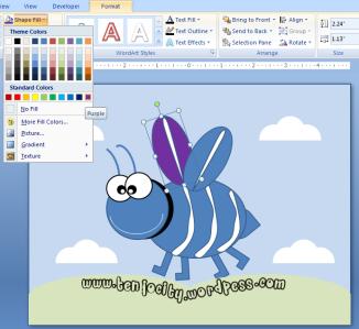 step 4 membuat karakte animasi di powerpoint