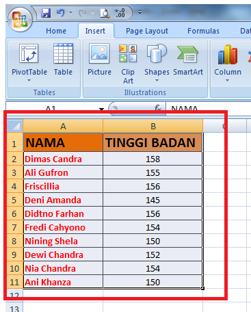 make chart in excel by tenjocity3