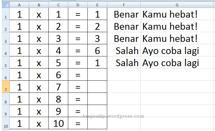 Membuat games di Microsoft Excel dengan mudah