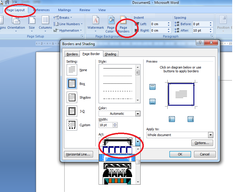 Cara Membuat Bingkai Di Microsoft Word Materi Tik Kelas 4 Sd